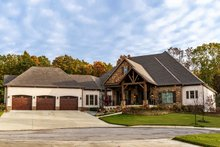Craftsman Exterior - Front Elevation Plan #923-110