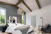 House Plan Design - Contemporary Interior - Bedroom Plan #23-2727
