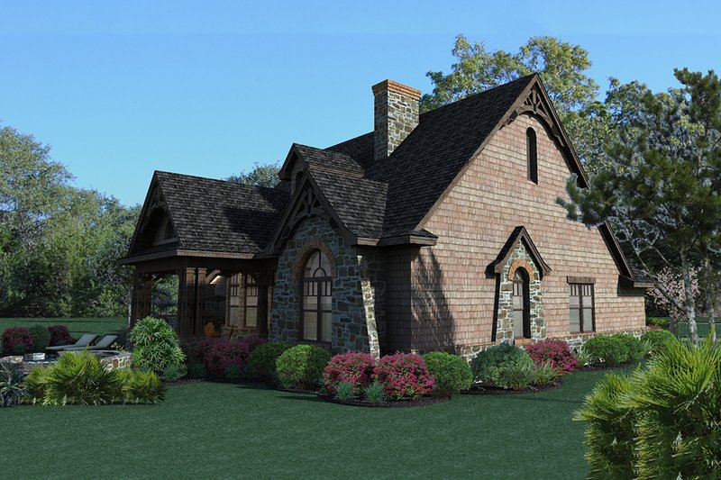 Craftsman Exterior - Other Elevation Plan #120-168 - Houseplans.com