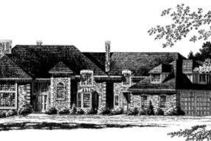 European Style House Plan - 4 Beds 3.5 Baths 5472 Sq/Ft Plan #328-121