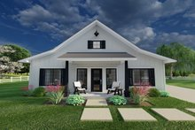 Home Plan - Farmhouse Exterior - Front Elevation Plan #126-234