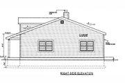 Country Style House Plan - 3 Beds 2 Baths 1500 Sq/Ft Plan #3-120 Exterior - Other Elevation