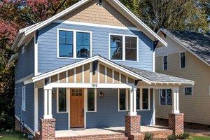 Craftsman Exterior - Front Elevation Plan #461-35