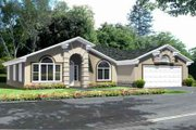House Plan - 3 Beds 2 Baths 1975 Sq/Ft Plan #1-1392 Exterior - Front Elevation