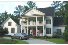 Dream House Plan - Colonial Exterior - Front Elevation Plan #1054-78