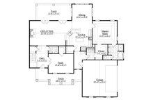 Farmhouse Floor Plan - Main Floor Plan Plan #1071-18
