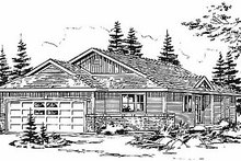 House Design - Traditional Exterior - Front Elevation Plan #18-1030