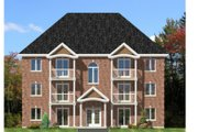 European Style House Plan - 2 Beds 1 Baths 6492 Sq/Ft Plan #138-264 Exterior - Front Elevation