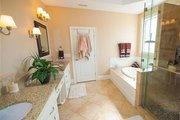 European Style House Plan - 3 Beds 2.5 Baths 2066 Sq/Ft Plan #927-39 Interior - Master Bathroom