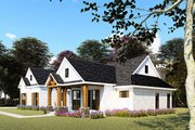 Farmhouse Style House Plan - 3 Beds 2.5 Baths 2073 Sq/Ft Plan #923-154 Exterior - Other Elevation
