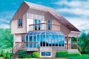 Modern Exterior - Front Elevation Plan #25-2297