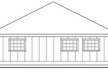 Traditional Exterior - Other Elevation Plan #124-801