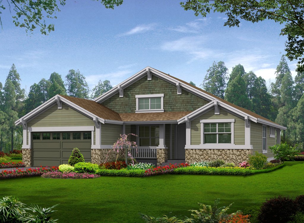 contemporary craftsman house plans craftsman style house plan 2 beds 2 baths 1502 sq ft 16803