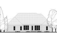 European Exterior - Rear Elevation Plan #430-137