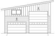 Contemporary Style House Plan - 0 Beds 0 Baths 1454 Sq/Ft Plan #932-32