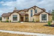 Mediterranean Style House Plan - 4 Beds 4 Baths 3069 Sq/Ft Plan #80-141