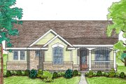 Ranch Style House Plan - 2 Beds 2 Baths 1092 Sq/Ft Plan #80-101