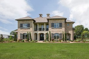 Dream House Plan - Mediterranean Exterior - Front Elevation Plan #930-276
