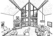 Bungalow Style House Plan - 3 Beds 2 Baths 2195 Sq/Ft Plan #320-301