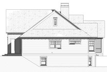 House Plan Design - Cottage Exterior - Other Elevation Plan #901-139
