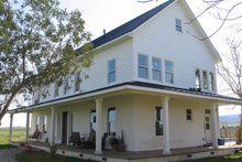 House Plan Design - Farmhouse Exterior - Other Elevation Plan #485-1