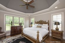 Architectural House Design - Traditional Interior - Master Bedroom Plan #929-792