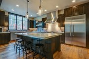 Craftsman Style House Plan - 4 Beds 5.5 Baths 4412 Sq/Ft Plan #892-28 Interior - Kitchen