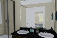 Architectural House Design - Traditional Interior - Master Bathroom Plan #1060-4