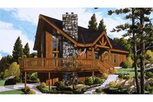 House Plan Design - European Exterior - Front Elevation Plan #3-339