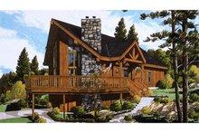 Dream House Plan - European Exterior - Front Elevation Plan #3-339