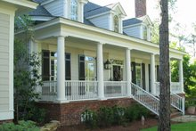 Architectural House Design - Country Exterior - Front Elevation Plan #1054-85