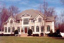 House Design - European Photo Plan #119-239