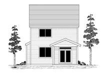 House Plan Design - Craftsman Exterior - Rear Elevation Plan #53-656