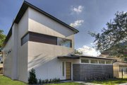 Modern Style House Plan - 3 Beds 3.5 Baths 3400 Sq/Ft Plan #449-2 Exterior - Front Elevation