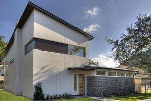 Modern Exterior - Front Elevation Plan #449-2
