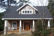 Craftsman Style House Plan - 3 Beds 2.5 Baths 1901 Sq/Ft Plan #79-280 Exterior - Front Elevation