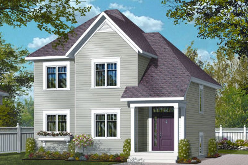 Country Exterior - Front Elevation Plan #23-2251 - Houseplans.com