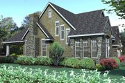 Traditional Style House Plan - 3 Beds 2.5 Baths 2143 Sq/Ft Plan #120-166 Exterior - Other Elevation