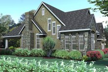 Dream House Plan - Traditional Exterior - Other Elevation Plan #120-166