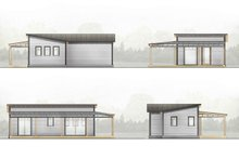 Cabin Exterior - Other Elevation Plan #924-7