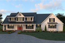 Dream House Plan - Farmhouse Exterior - Front Elevation Plan #1070-19