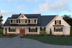 Farmhouse Exterior - Front Elevation Plan #1070-19