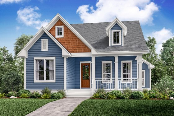 House Design - Traditional Exterior - Front Elevation Plan #430-145