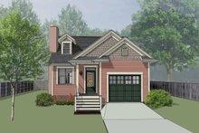 House Design - Bungalow Exterior - Front Elevation Plan #79-307