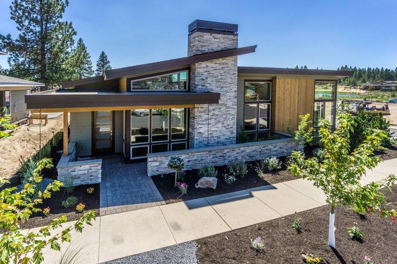 Home Plan - Modern Exterior - Front Elevation Plan #895-60