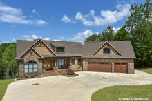 Dream House Plan - Craftsman Exterior - Front Elevation Plan #929-1040