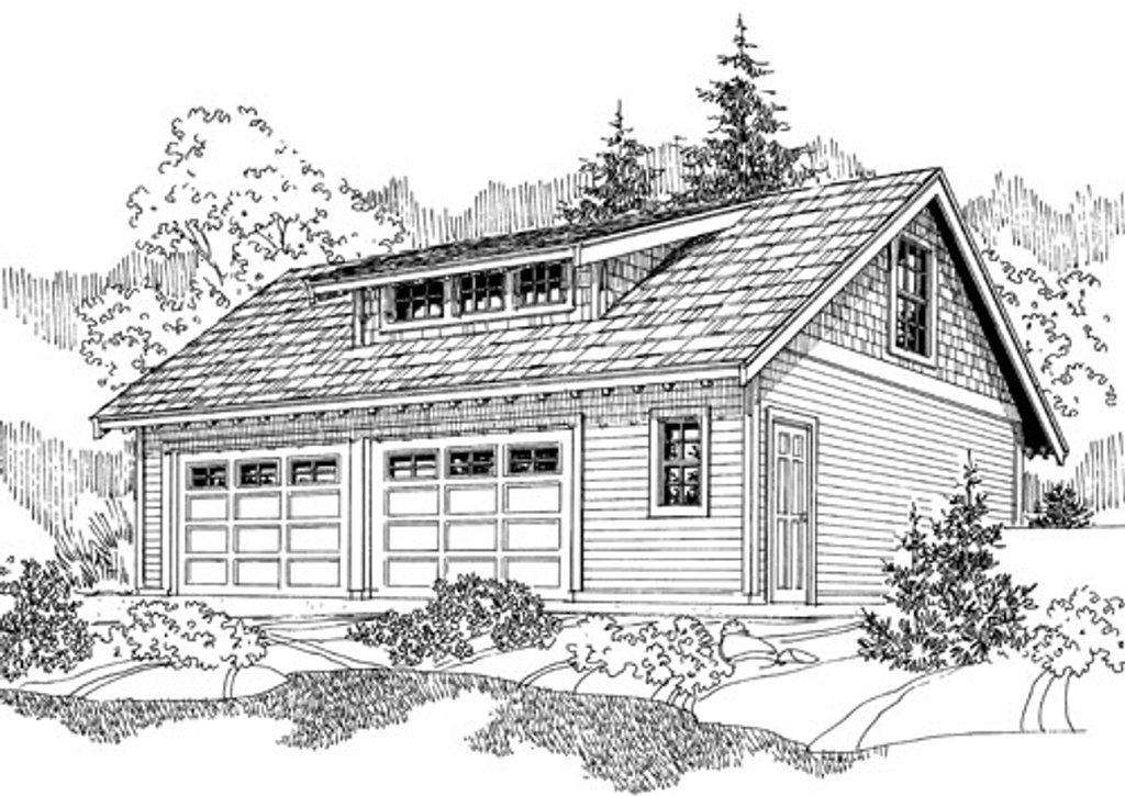 craftsman style house plan 0 beds 0 baths 538 sq ft plan 124 800. Black Bedroom Furniture Sets. Home Design Ideas