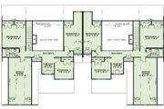 Craftsman Style House Plan - 4 Beds 2.5 Baths 5000 Sq/Ft Plan #17-2446 Floor Plan - Upper Floor Plan