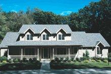 Farmhouse Exterior - Other Elevation Plan #20-208