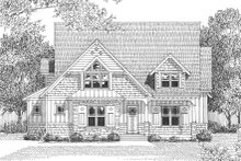 Home Plan - European Exterior - Other Elevation Plan #413-104